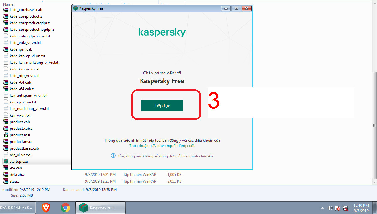 Kaspersky Free Tiếng Việt phiên bản mới nhất 2020 bản cài offline + online