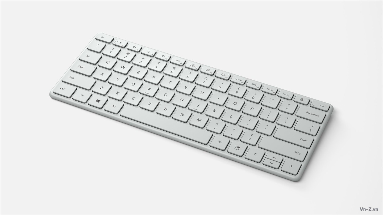 Microsoft phát hành bàn phím Designer Compact và chuột công thái học mới