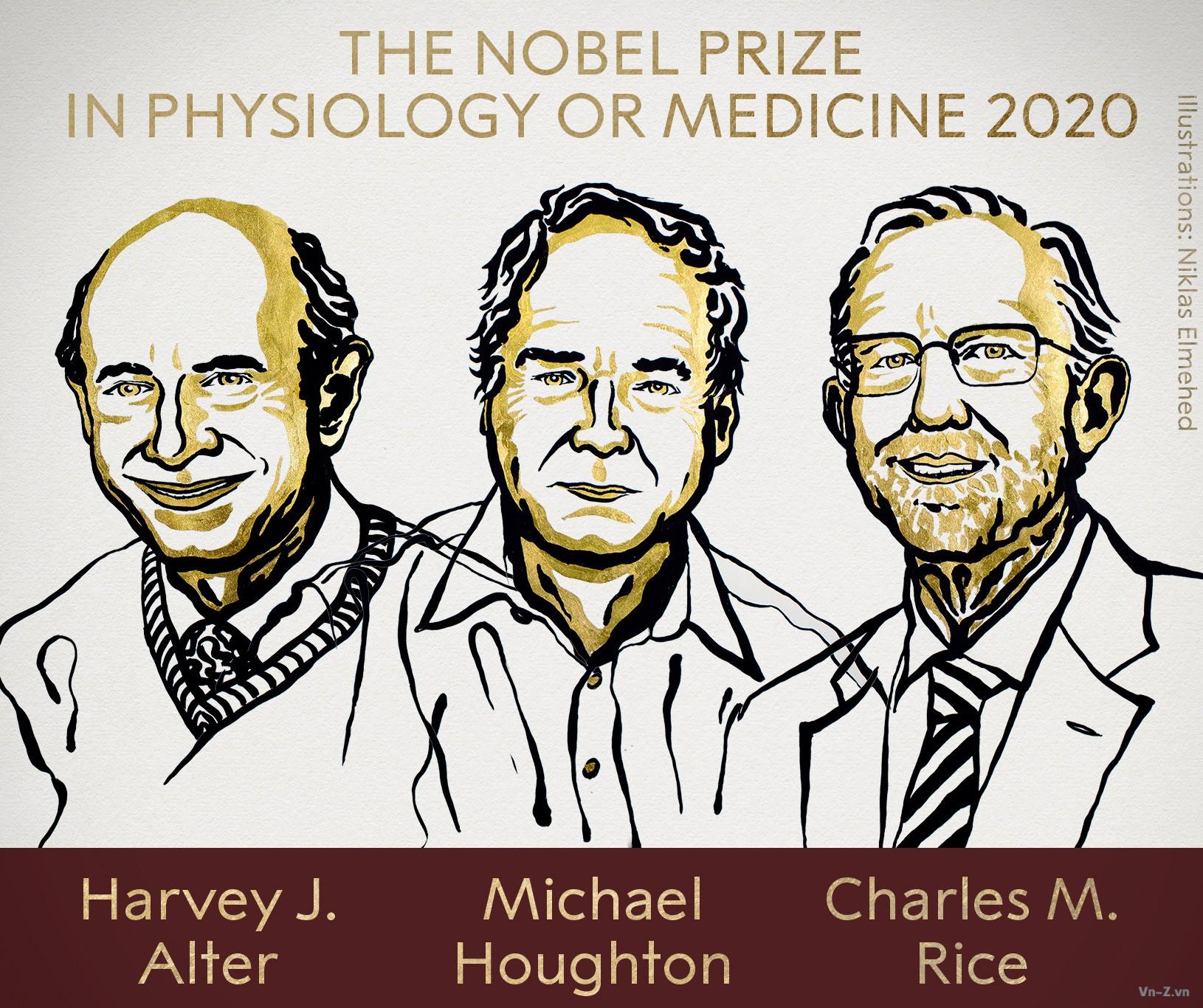 Phát hiện Virus Viêm gan C giành giải Nobel Y Sinh 2020