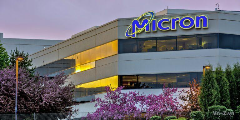 Giá cổ phiếu Micron giảm sau khi ngừng giao hàng cho Huawei